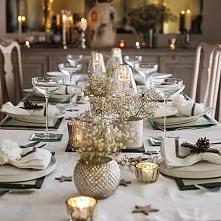 dekoracja stołu bożonarodze...