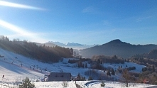 Te góry są magiczne, codziennie wyglądają inaczej. Szczawnica. Fotografia z k...
