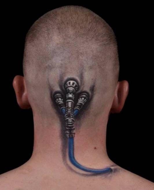 Tatuaże Na Głowie Na Tatuaże Zszywkapl