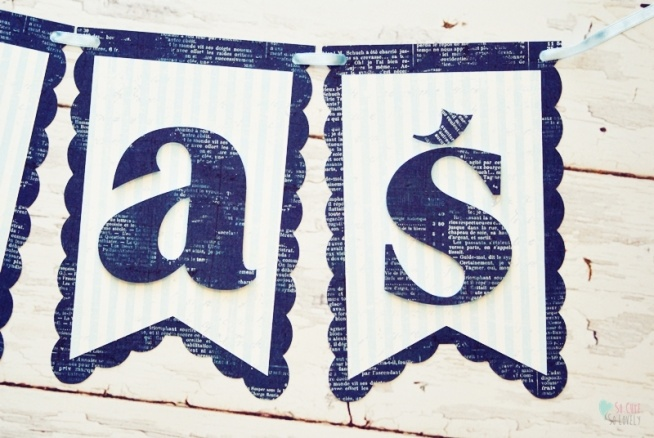 55b13c5e1529d3 Dekoracje urodzinowe - baner z imieniem na roczek na Baner ...