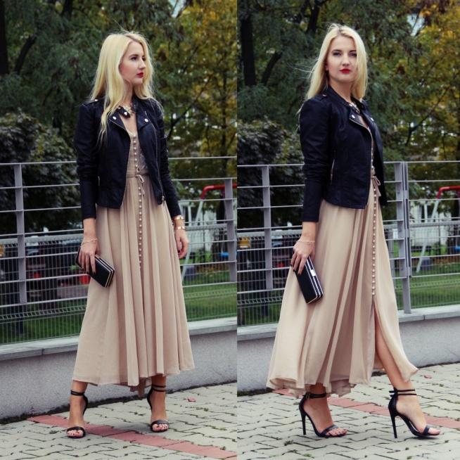 Secondhandowa sukienka za 1 zł! :) Kliknij w obrazek, żeby przejść na bloga