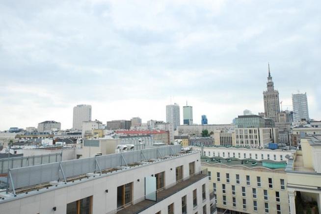 widok w Warszawie
