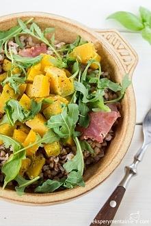 Kasza gryczana z dynią – obiad na diecie