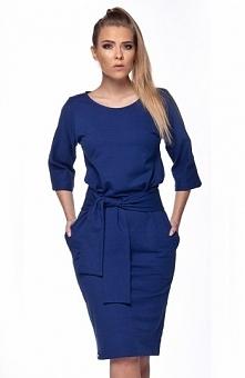 Lemoniade L112 sukienka granat Modna sukienka, model wykonany z jednolitej ba...