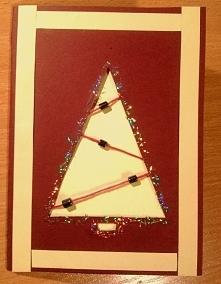 Karta świąteczna na Boże Narodzenie :)