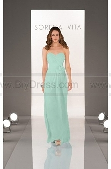Sorella Vita Mint Green Bridesmaid Dresses Style 8432