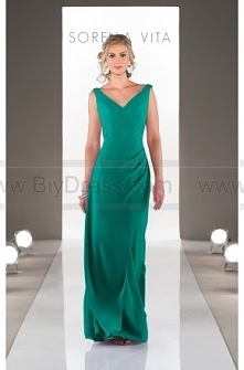 Sorella Vita V-Neck Bridesmaid Dress Style 8576