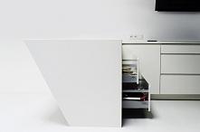 Pomysł na minimalistyczną kuchnię od Diament kuchnie. Kliknij w zdjęcie i zob...