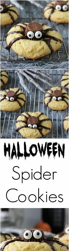 Halloween Spider Cookies !