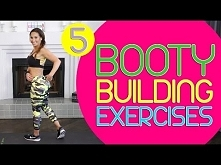 Booty building! 5 Butt Exercises You can Do anywhere | Natalie Jill