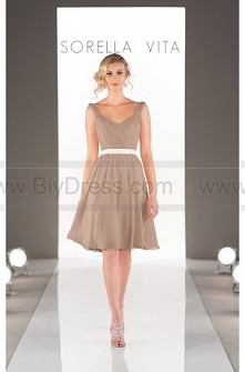 Sorella Vita Short Bridesmaid Dress Style 8508