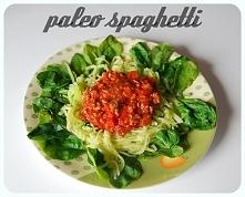 Spaghetti wcale nie musi być tuczące! Kliknij w zdjęcie po przepis!