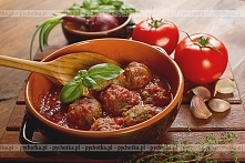 Klopsy z ryżem w pomidorowy...