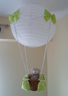lampa-balon,zielona