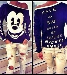 Bluza z Myszką Miki