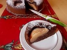 Razowe ciasto z gruszkami...