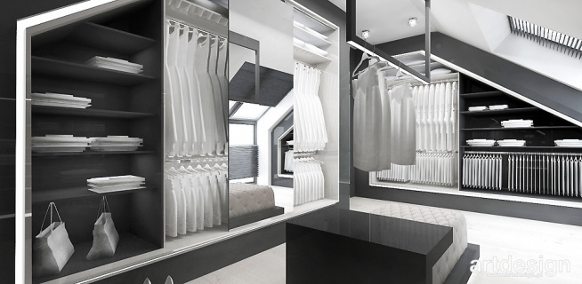 projekt funkcjonalnej garderoby | ACCELERATED ARCHITECTURE