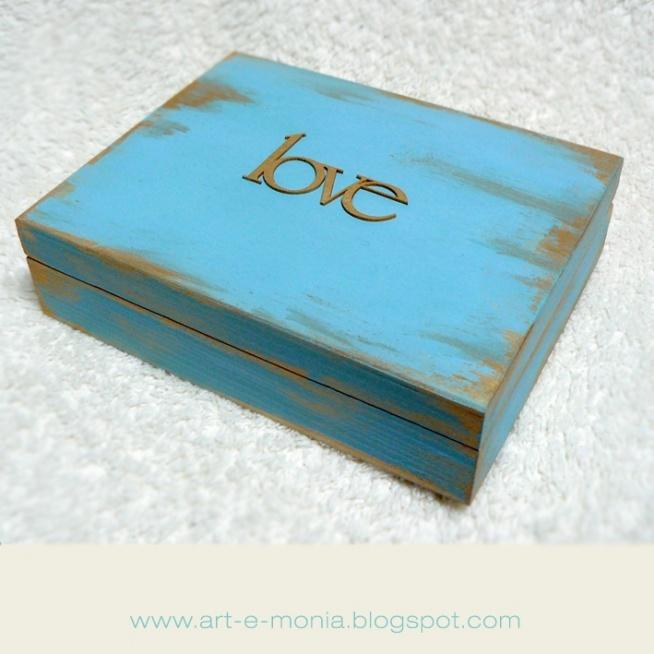 pudełeczko na album