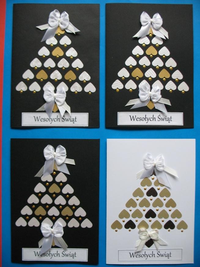 Przygotowania do świąt czas zacząć :) Kartki wykonane z dekoracyjnego papieru i eleganckich wstążeczek, każdy element wykonany przeze mnie ręcznie. Możliwość zakupu po kontakcie chmielewskaj@o2.pl