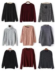 Sweterki-uwielbiam je! A wy...