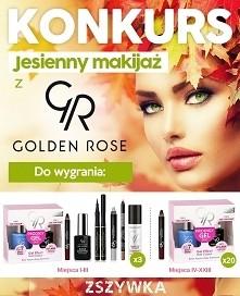 Jesienny makijaż z Golden R...