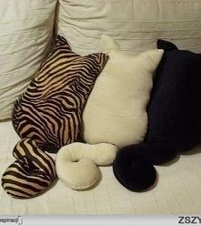 Poduszki kotki