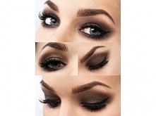 makijaż w brązach idealny na jesień :)