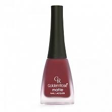 piękny kolor! elegancka czerwień zawsze modna ;) MATTE NAIL LACQUER - MATOWY ...