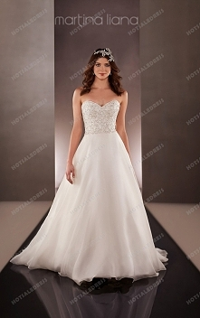 Martina Liana Wedding Dresses Ball Gown Style 664