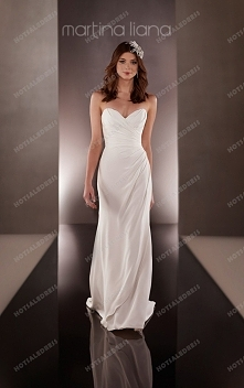 Martina Liana Asymmetrical Wedding Dress Style 653