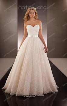Martina Liana Wedding Dresses Ball Gown Style 649