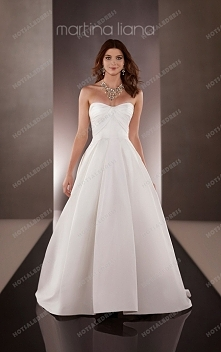 Martina Liana Natural Waist Wedding Dress Style 636