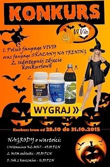 ViVio marka promująca zdrowy styl życia ogłasza konkurs Halloween. Nagrody dl...