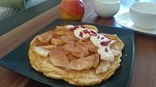 dietetyczny szybki pyszny omlet, zdrowe śniadanie to podstawa, przepis <kl...