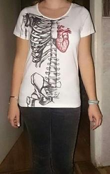 Anatomicznie (markery do tkanin i duuuużo czasu)