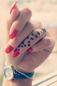 star finger tattoos★★★★★