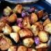 Smażone ziemniaki tymiankowo-bazyliowe z czosnkiem