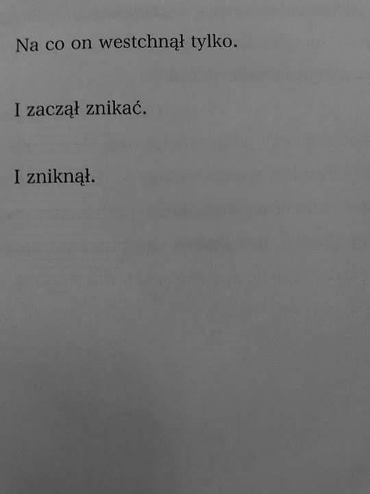 ~Wisława Szymborska