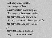~Marcin Świetlicki