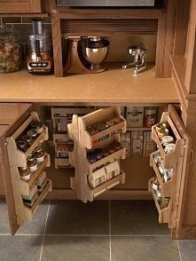 Przestrzeń w kuchni.
