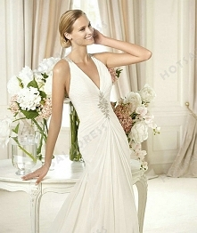 Wedding Dress - Style Pronovias Baile Draping