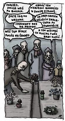 już nie długo na cmentarzu...