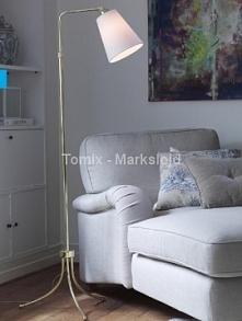 Lampa podłogowa ANDRIA - mosiądz (105257) - Markslojd  Tomix.pl
