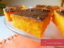 Proste ciasto z dyni o konsystencji sernika/brownie :) Naprawdę świetny przepis! :D Przepis krok po kroku po kliknięciu w zdjęcie :)