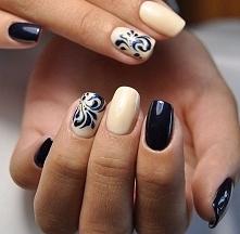 Jesienny manicure ;)