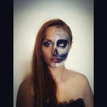 Taki makeup na Halloween