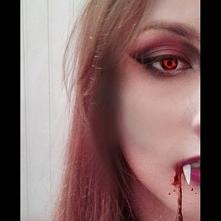 Makeup na Halloween wersja 2