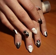 zapraszam Channy_nails #paznokcie #nails #black #beauty