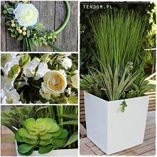 Sztuczne rośliny - dekoracje od tendom.pl