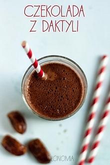 Gorąca czekolada z daktyli